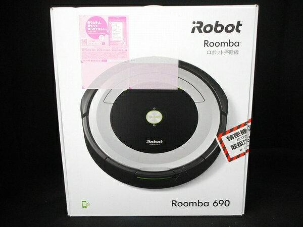 未使用 【中古】 iRobot ロボット掃除機 ルンバ690 クリーナー お掃除 ロボット 楽 クリーン 清掃 整理 家電 W3167912