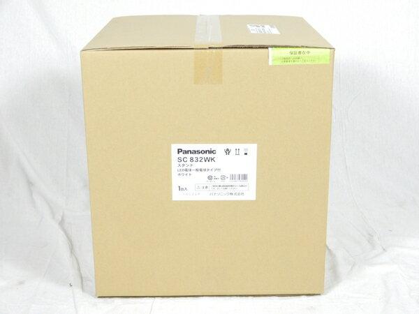 未使用 【中古】 Panasonic SC832WK 卓上型 LED 電球色 スタンド 中間スイッチ付 MODIFY モディファイ パネル付型 白熱電球60形1灯器具相当 K3088620