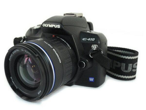 【中古】 OLYMPUS オリンパス E-410 レンズ キット カメラ デジタル一眼レフ 機器 Y2705777