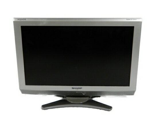 【中古】 SHARP シャープ AQUOS LC-20E6 液晶テレビ 20型 K3341450