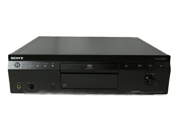 【中古】 SONY ソニー SCD-XA5400ES CDプレーヤー デッキ スーパーオーディオCD S3562431