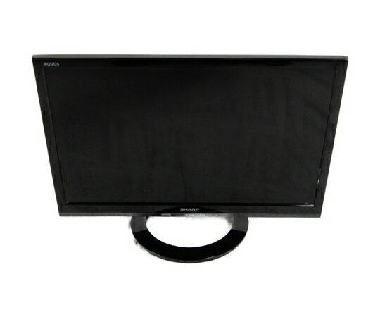 【中古】 SHARP シャープ AQUOS LC-19K30-B 液晶テレビ 19型 ブラック系 2016年製 K3407661