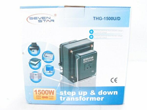 未使用 【中古】 SEVEN STAR THG-1500U/D Transformer コンセント 変換プラグ S2536017