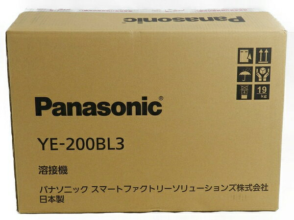 新品 【中古】 新品 Panasonic パナソニック YE-200BL3 フルデジタル 直流 TIG 溶接機 工具 メーカー保証有 S3170601