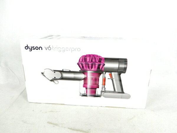 未使用 【中古】 Dyson ダイソン V6 trigger pro DC61 MH PRO コードレス クリーナー ダイソン サイクロン 掃除機 フューシャ/ニッケル K3571602