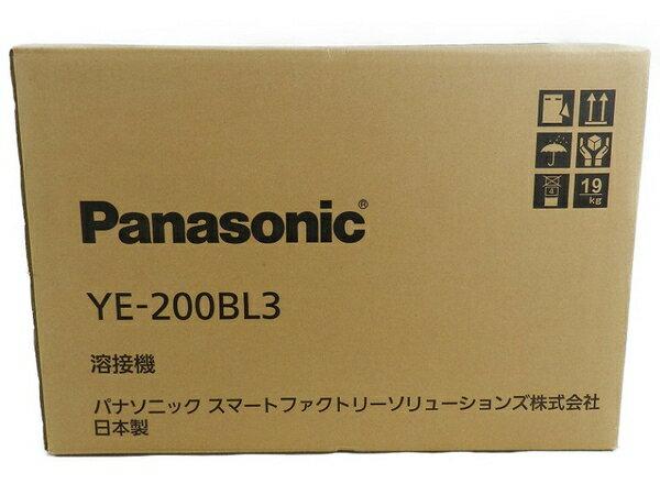 新品 【中古】 新品 Panasonic パナソニック YE-200BL3 フルデジタル 直流 TIG 溶接機 工具 メーカー保証有 S3170600