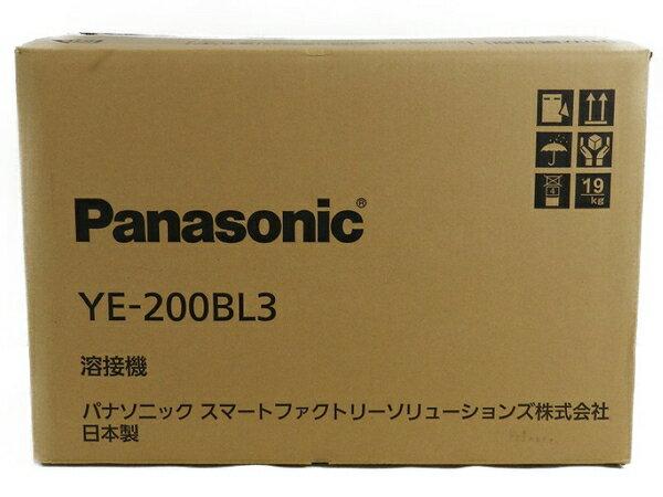 新品 【中古】 新品 Panasonic パナソニック YE-200BL3 フルデジタル 直流 TIG 溶接機 工具 メーカー保証有 S3170603
