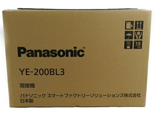 新品 【中古】 新品 Panasonic パナソニック YE-200BL3 フルデジタル 直流 TIG 溶接機 工具 メーカー保証有 S3170595