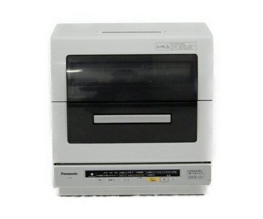 【中古】 Panasonic パナソニック NP-TR6-W 食洗機 食器洗い乾燥機 エコナビ 6人用 ホワイト キッチン 家電 【大型】 K3551468
