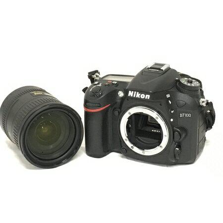【中古】 Nikon D7100 カメラ レンズキット AF-S DX 18-200mm F3.5-5.6G ED VR II 一眼レフ 中古 W3561879