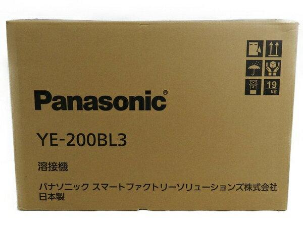 新品 【中古】 新品 Panasonic パナソニック YE-200BL3 フルデジタル 直流 TIG 溶接機 工具 メーカー保証有 S3170598