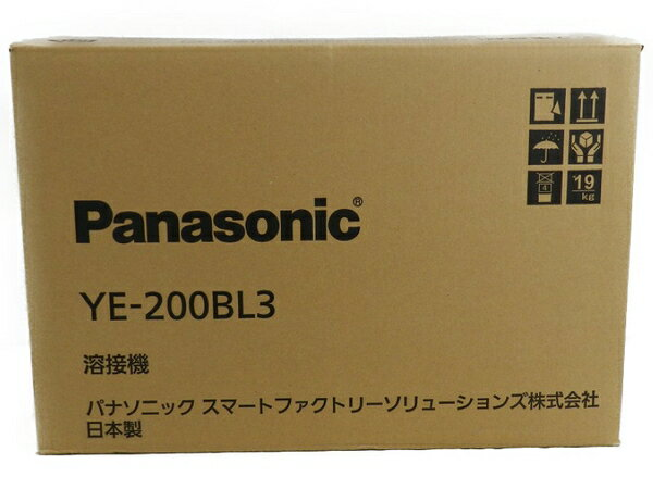 新品 【中古】 新品 Panasonic パナソニック YE-200BL3 フルデジタル 直流 TIG 溶接機 工具 メーカー保証有 S3170597