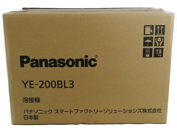 新品 【中古】 新品 Panasonic パナソニック YE-200BL3 フルデジタル 直流 TIG 溶接機 工具 メーカー保証有 S3170594