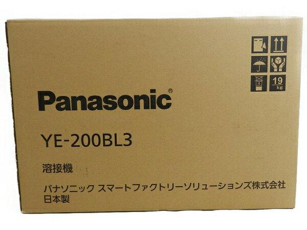 新品 【中古】 新品 Panasonic パナソニック YE-200BL3 フルデジタル 直流 TIG 溶接機 工具 メーカー保証有 S3170591
