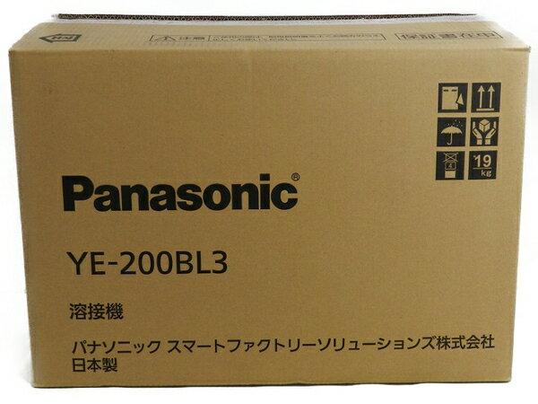 新品 【中古】 新品 Panasonic パナソニック YE-200BL3 フルデジタル 直流 TIG 溶接機 工具 メーカー保証有 S3170593