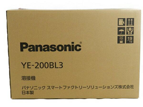 新品 【中古】 新品 Panasonic パナソニック YE-200BL3 フルデジタル 直流 TIG 溶接機 工具 メーカー保証有 S3170590