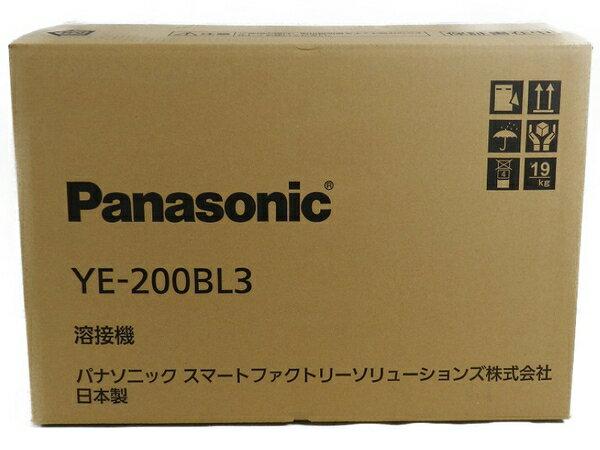 新品 【中古】 新品 Panasonic パナソニック YE-200BL3 フルデジタル 直流 TIG 溶接機 工具 メーカー保証有 S3170592