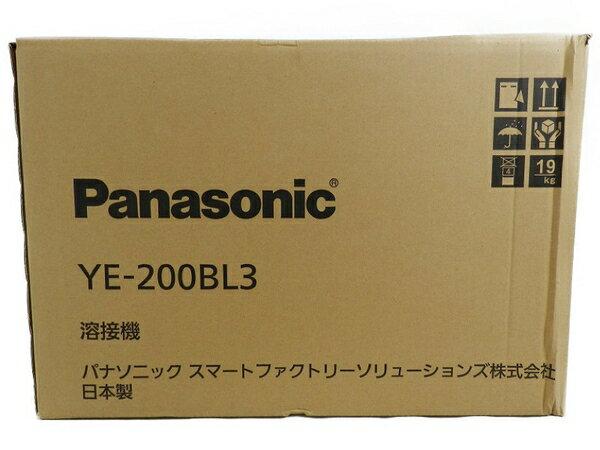 新品 【中古】 新品 Panasonic パナソニック YE-200BL3 フルデジタル 直流 TIG 溶接機 工具 メーカー保証有 S3170589