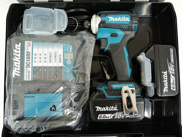 未使用 【中古】 【同一有り】未使用 マキタ TD171DRGX インパクトドライバー バッテリー2個 電動工具 makita O3572063