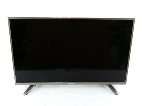 【中古】 Hisense ハイセンス HS32K225 液晶 テレビ 32型 映像 機器 楽 【大型】 Y3085635