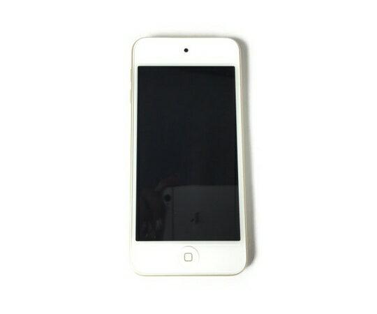 【中古】 Apple iPod touch A1574 MKHT2J/A 32GB 第6世代 音楽プレイヤー ゴールド K3949425