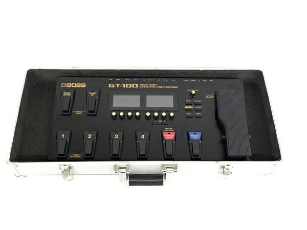 【中古】 BOSS ボス COSM Amp Effects Processor GT-100 マルチエフェクター T3482653