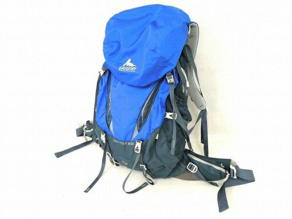 【中古】 良好 GREGORY CONTOUR 50 リュックサック バッグ キャンプ 登山 中古 O3606783