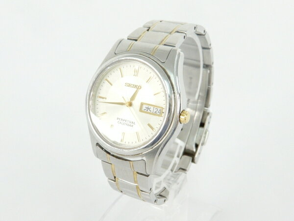 【中古】 SEIKO セイコー スピリット パーペチュアルカレンダー SBQL009 クォーツ メンズ 腕時計 Y3868330