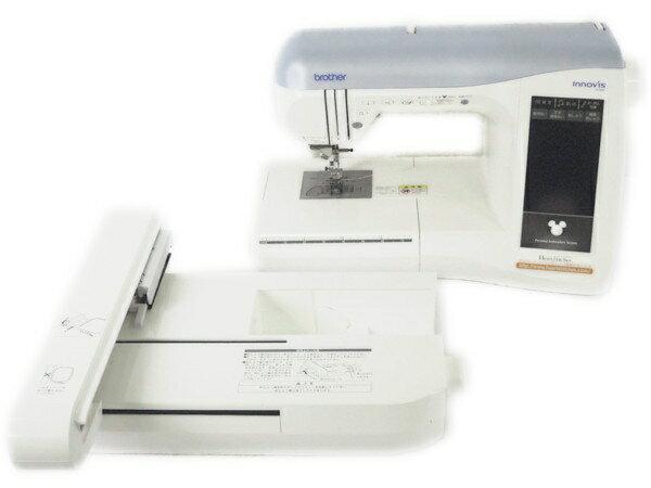 【中古】 brother innovis D300 EMS80 コンピューター ミシン 専用刺繍機付き 裁縫 Y2709985
