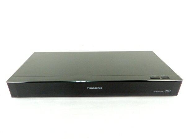 【中古】 Panasonic DIGA DMR-BRX2000 ブルーレイディスク レコーダー 2TB Y2772059