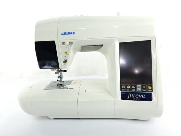 【中古】 JUKI ジューキ HZL-010S EM-3 刺繍機 コンピューター ミシン セット 趣味 Y3536154