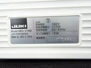【中古】JUKIジューキMO-114DオーバーロックミシンホワイトF3217224