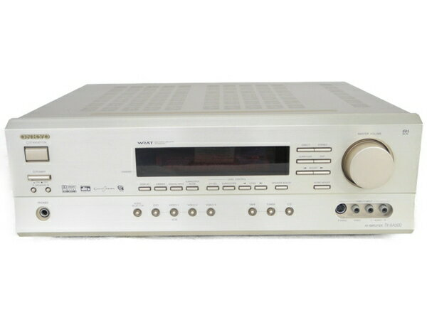 【中古】 ONKYO オンキョー TX-SA500 AVアンプ ホームシアター ゴールド 音響機器 N3567551