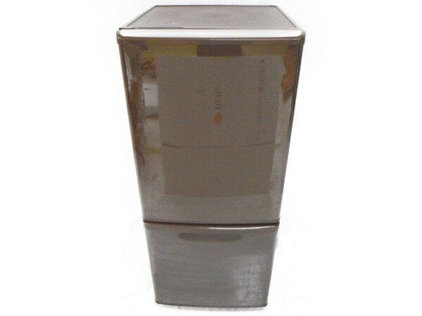 【中古】 【中古】Panasonic パナソニック NR-B144W-T 冷凍冷蔵庫 2ドア 138L ブラウン【大型】 H3161056