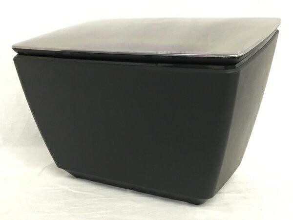 【中古】 Panasonic EH-XS10 家庭用 温冷スチーマー プレミアム エステ 黒 T2778056