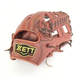 【中古】 ZETT 軟式用 グローブ BRGB30740 三塁手用 野球 Y4393857
