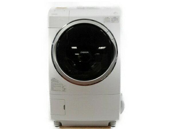 【中古】 TOSHIBA 東芝 ZABOON マジックドラム TW-Z96X1L 洗濯機 ドラム式 9kg 楽 【大型】 T3492516