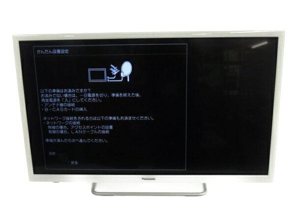 【中古】 Panasonic TH-32ES500-W 液晶 テレビ 32型 映像 機器 18年製 楽 【大型】 Y3065105