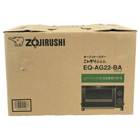 未使用 【中古】 象印 EQ-AG22-BA オーブントースター こんがり倶楽部 ブラック ZOJIRUSHI 2018年製 N5856091