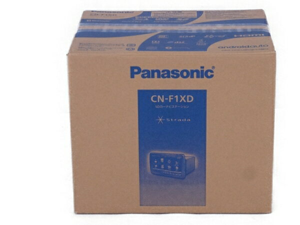 未使用 【中古】 Panasonic パナソニック カーナビ CN-F1XD SD ステーション ナビ Strada N3220242