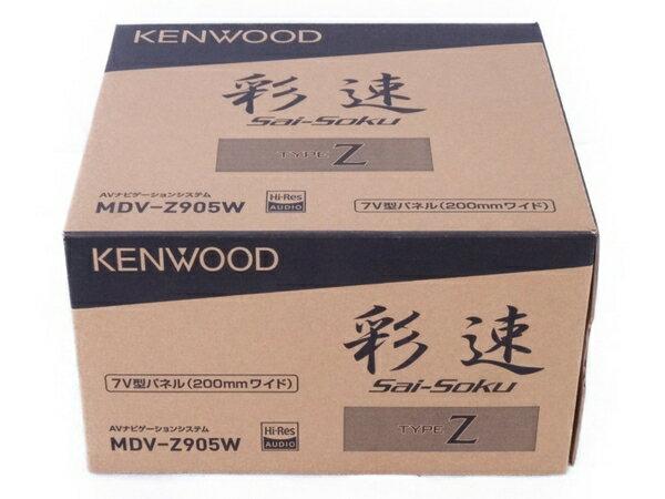未使用 【中古】 KENWOOD ケンウッド MDV-Z905W カーナビ AVナビゲーションシステム 7V型パネル (200mmワイド) タイプZ 彩速 Sai-Soku N3136666