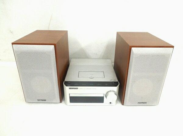 【中古】 中古 KENWOOD ケンウッド Kシリーズ コンパクトHi-Fiシステム K-521-S コンポ FM/AM シルバー O3151670