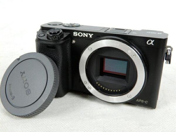 美品 【中古】SONY ソニー α6000 ILCE-6000 ミラーレス一眼 カメラ ボディ K3428000