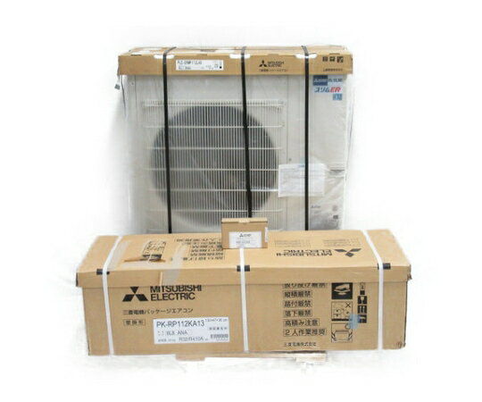 未使用 【中古】 三菱 事務所用パッケージエアコン PKZ-ERMP112KLP【大型】 N3207987