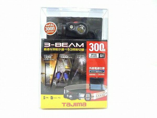 未使用 【中古】 未使用 TAJIMA LE-E301-BK 300ルーメン タジマ ペタ LED ヘッドライト ブラック O3572151