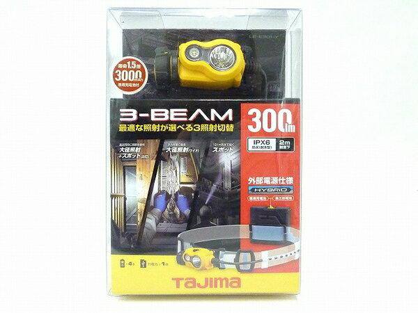未使用 【中古】 未使用 TAJIMA LE-E301-BK 300ルーメン タジマ ペタ LED ヘッドライト ブラック O3572152