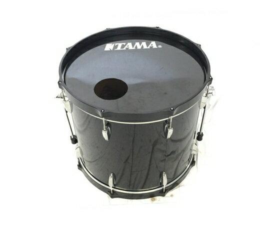 【中古】 良好 TAMA IMPERIAL STAR インペリアルスター バス ドラム ブラック K4013986