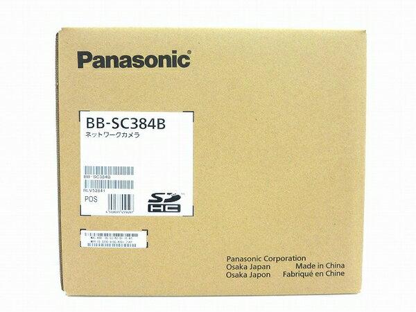 未使用 【中古】 Panasonic BB-SC384B ネットワークカメラ 防犯 天井 卓上 屋内用 パナソニック O3749214