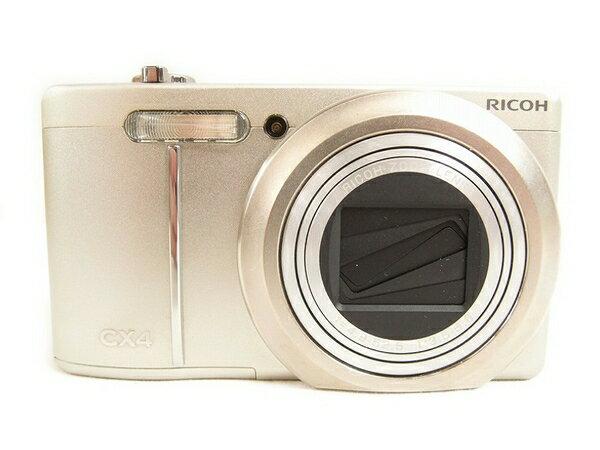 【中古】 良好 中古 Ricoh リコー CX4 コンパクト デジタル カメラ コンデジ デジカメ ボディ S2877817