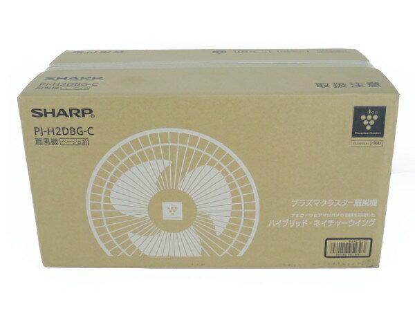 未使用 【中古】 SHARP シャープ PJ-H2DBG 扇風機 家電 高濃度 プラズマクラスター 7000 Y3226214